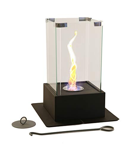 Check Out This New! Fire Desire's Tornado Fireplace - Unique Dancing Twisting Flame, Both Indoor and...