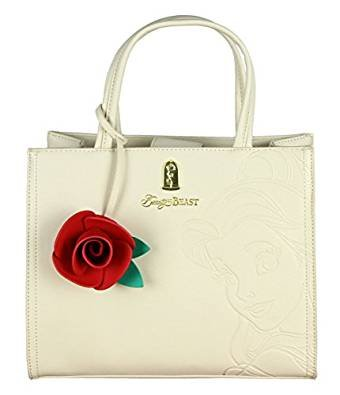 Loungefly x Beauty And The Beast Embossed Charm Bag