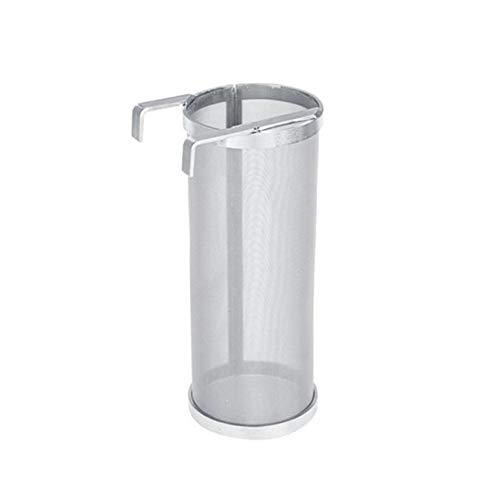 Luckycyc Stainless Steel Brewing Filter, 300 Micron Stainless Steel Hop Spider Mesh Beer Filter Homemade Brewing Home Coffee Hopper Home Brew