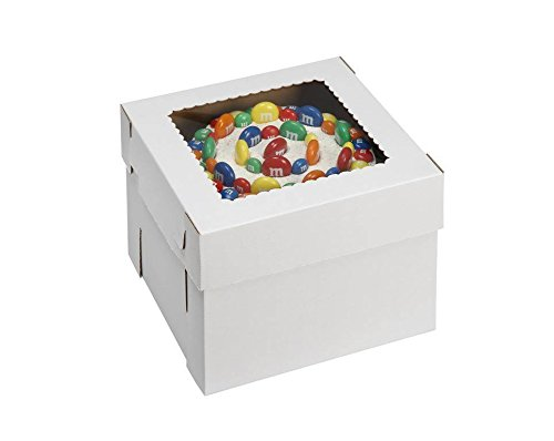 W PACKAGING WPCKB1412 14x14x12 White/Kraft Plain 12
