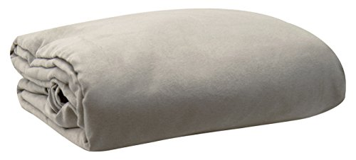LCM Home Fashions Micro Suede Futon Cover, Twin, ()