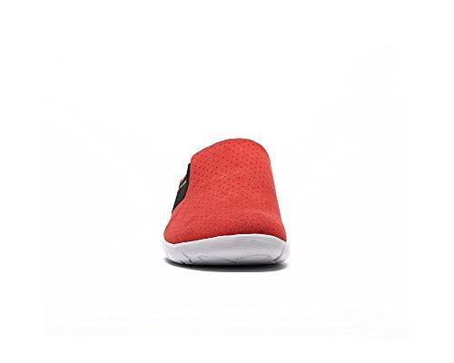 Des Confort Pantoufle Femmes Rouge De Uin Microfibre Sidi XvTBaTqw