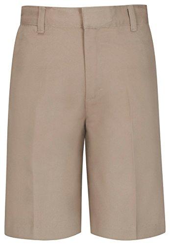 - Classroom Big Boys' Uniform  Flat Front Short, Khaki, 12