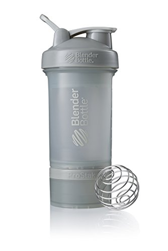BlenderBottle ProStak System with 22-Ounce Bottle and Twist n