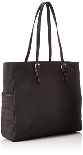 Nylon Black Negro totes Chic Mujer Tommy Bolsos Tote Hilfiger vwEWWgqZ