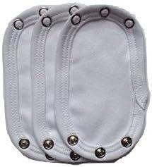 Dtailz - Extensor de body para bebé, pieza de extensión para mono de bebé