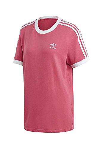 Stripes Trace 3 Adidas shirt T Donna Maroon w5gc0qCx