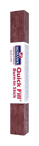 - Mohawk Finishing Products M320-0001 Mohawk Quick Fill Burn-in Stick, 4.35, Light Red Mahogany