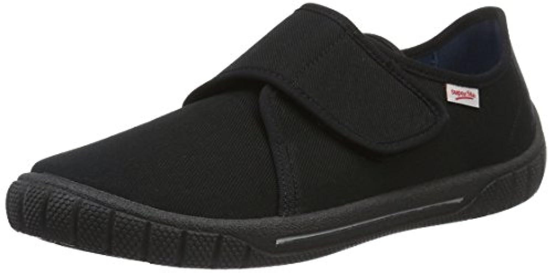 Superfit Boys' BILL Low-Top Slippers Black Size: 1 UK (33 EU)