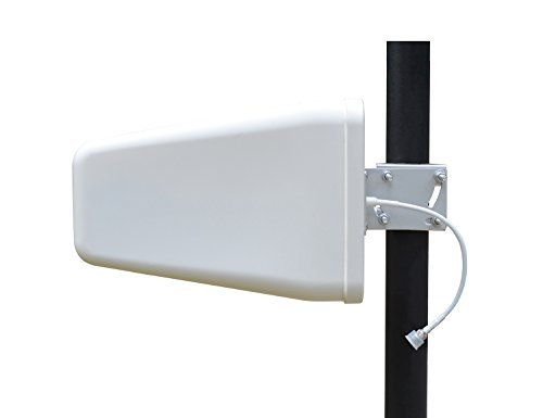 4G LTE Outdoor Cellular Yagi Antenna, Wide Band Directional Log Periodic Yagi Cellular Antenna for 4G LTE 3G 2G GSM T-mobile Verizon AT&T Hotspot Signal Boosters Repeaters