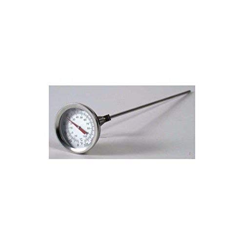Brewcraft 12'' Ss Dial Thermometer Homebrew Brew Kettle Brew Pot (set of 2) by Home Brew Ohio