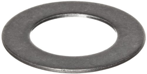 316 Stainless Steel Round Shim, Unpolished (Mill) Finish, Annealed, Hard Temper, ASTM A666, 0.020