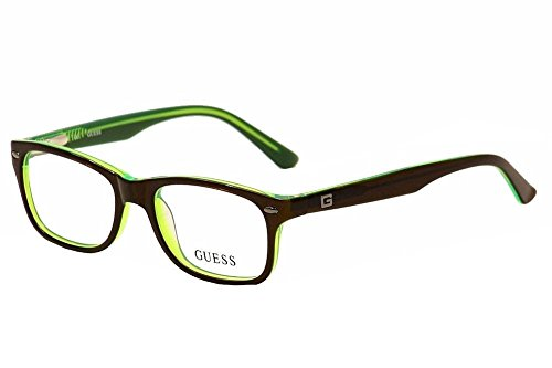 Quicksilver 7 Glasses Frames : Guess Youth Eyeglasses GU9145 9145 050 Brown/Green Full ...