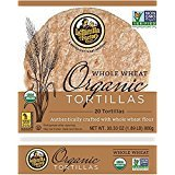 La Tortilla Factory Whole Wheat Organic Tortillas 30.33oz (20 Tortillas) (6 Pack)