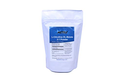 L-Citrulline DL-Malate (2:1) Bulk Powder – 500g | for Athletic Endurance, Recovery and Energy