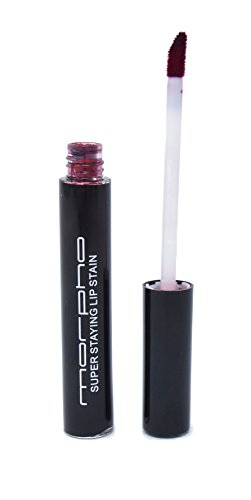 (Super Staying Lip Stain - Snap Dragon Red - Morpho Cosmetics, Long Lasting Lip Stain)