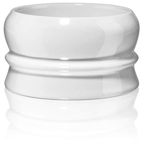 Fine Heavy Stoneware Stackable Shave Soap Bowl - Shaving Bowls For Men - Lather Mug For Wet Shavers - -
