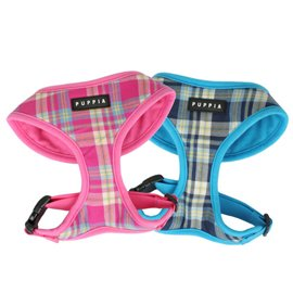Puppia Soft Dog Harness Spring Pink Medium