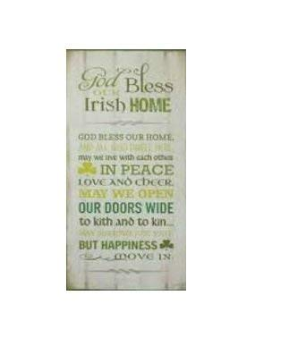Elysian Gift Shop God Bless Our Irish Home 18