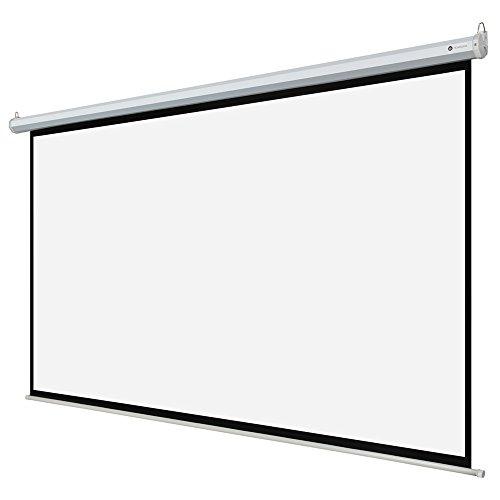 Homegear 110 hd motorized 16 9 projector screen w remote Motorized projection screens