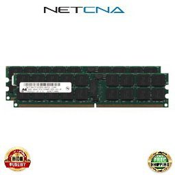 (X4249A 16GB (2x8GB) Sun Blade X6240, X6440 PC2-5300 DDR2-667 240-pin ECC RDIMM Memory Kit 100% Compatible memory by NETCNA USA)