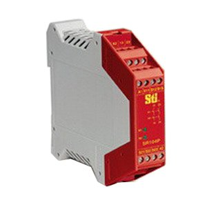 Omron 445101041 Safety Relay, 24 VAC/VDC, 20 mA, 3 NO - 1 NC