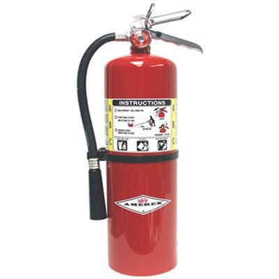Amerex Fire Extinguisher, Dry Chemical, 10A:120B:C, 20 Lbs