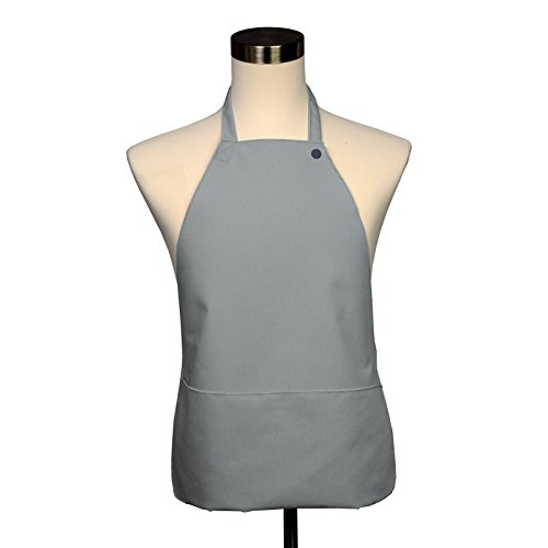 Supply Linens Milliken - Adult Bib - Covered with Care Assorted Colors Available! (Gray)
