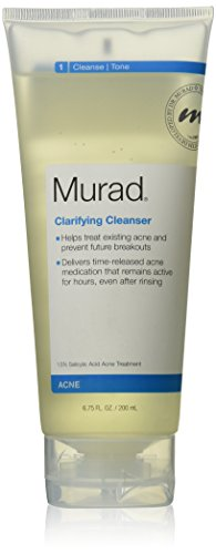 Murad Acne Clarifying Cleanser, Step 1 Cleanse/Tone, 6.75 fl oz (200 ml)
