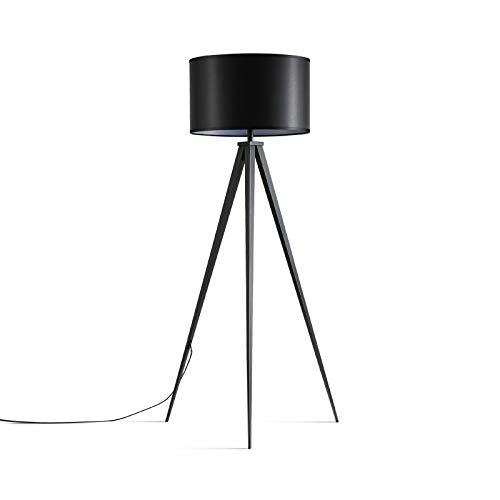 ERCZYO Einfache Wohnzimmer Schlafzimmer Nachttischlampe Nachttischlampe Nachttischlampe kreative Persönlichkeit Schmiedeeisen schwarz Stativ Stehleuchte ERCZYO B07PS8MSLW   Sale Online  6795b7
