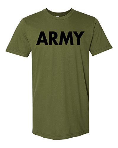 Promotion & Beyond US Military Gear Army Training PT Men's T-Shirt, 2XL, Military