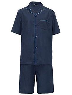 9ae056b92ada Hombre Largo Tradicional Pijama 2 Piezas Clásico Set Hospital Top + ...