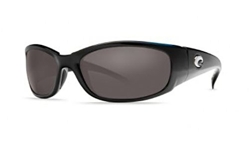 Costa Del Mar Hammerhead Sunglasses - Black Frame - Gray COSTA 580P - Mar Hammerhead Costa Del
