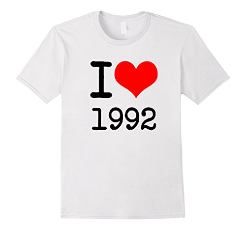 Mens I Love 1992 T Shirt - 90s Clothing Medium - 90s Was What The In Cool