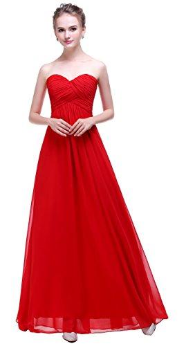Esvor Sweetheart Chiffon Bridesmaid Evening product image