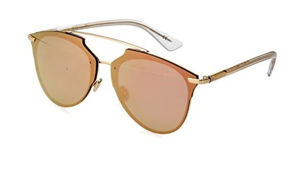 afec5646b72a Amazon.com  Christian Dior Dior Reflected P S5ZRG Gold Crystal Reflected P  Pilot Sunglasses  Christian Dior  Clothing