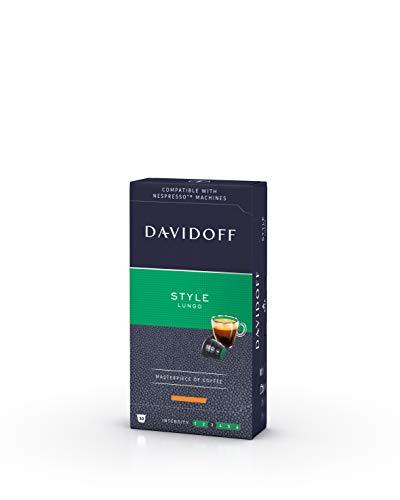 Davidoff Cápsulas de Café Style, Lungo, 55 g