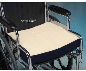 Gel Foam Wheelchair Cushion 16x18x3 1/2 by North Coast Medical