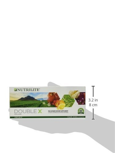 Supply Day 31 (NUTRILITE DOUBLE X Multivitamin/Multimineral/Phytonutrient - 62 Tablets each (186 Tablets Total) - 31-Day Supply/with Case.)