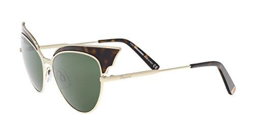 166 Sunglasses (Sunglasses DSquared2 DQ 166 DQ0166 52N dark havana / green)