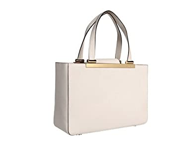 612721f9e6f541 Image Unavailable. Image not available for. Color: Michael Kors Tilda Large  Tote Handbags White