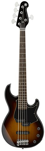 Yamaha BB435 BB-Series 5-String Bass Guitar, Tobacco Brown Sunburst