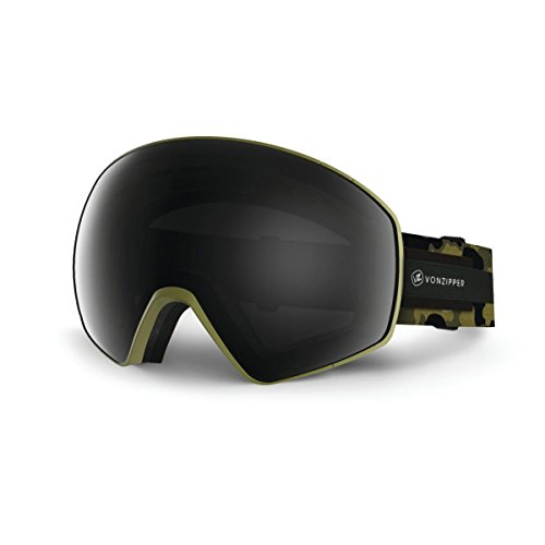VonZipper Jetpack Goggles Olive Camo Satin, One Size