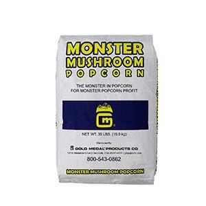 (Beach City Wholesalers Gold Medal Monster Mushroom Popcorn Seed 35 lb bag (1 count))