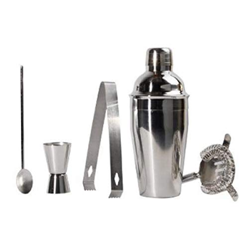 1 Set Stainless Steel Cocktail Boston Shaker Mixing Cup Drink Bartender Bar Tool