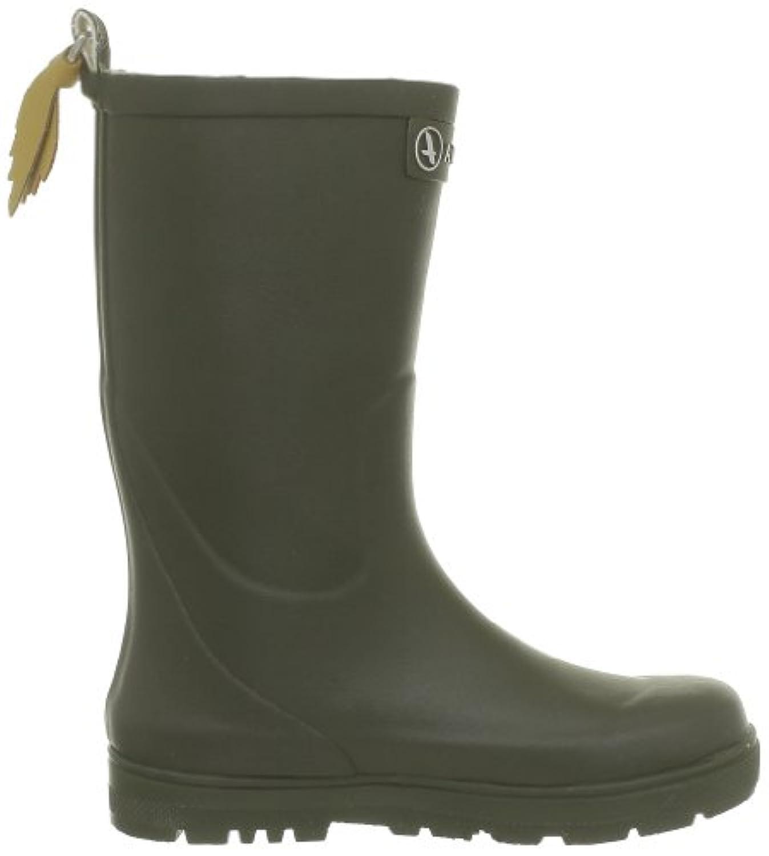 Aigle Woodypop, Unisex Kids'  Rain Boots, Green (Kaki), 10 Child UK (28 EU)