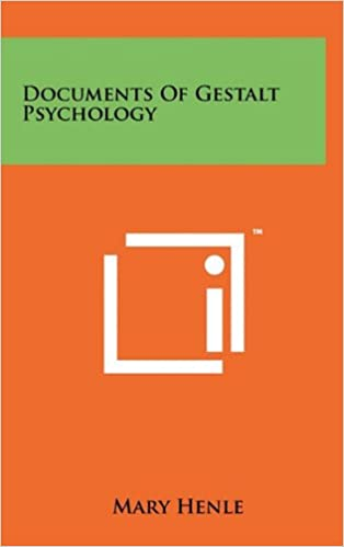 Documents of Gestalt psychology