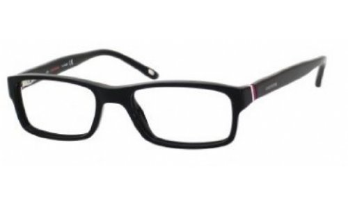 Carrera 6211 Eyeglass Frames CA6211-0OF7-4717 - Black  White  Red Frame Lens Diameter 47mm