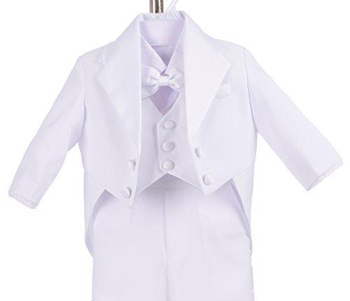 0ff3211ea Dressy Daisy Baby-Boys  Classic Tuxedo with Tail 5pc Set - Import It All