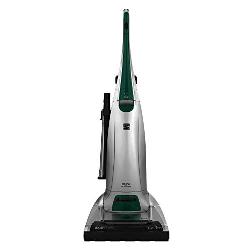 Kenmore 14 Inch Pet Friendly Bagged Upright Vacuum Cleaner, Silver & Green